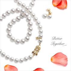 Make the moment a memory to treasure with the complete #Mikimoto look. #GiftOfALifetime