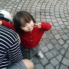 Pict from ig Baby Cute Asian Babies, Korean Babies, Asian Kids, Cute Korean Girl, Cute Little Baby, Mom And Baby, Little Babies, Baby Love, Baby Kids
