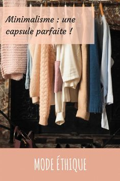 Minimalisme : une collection capsule parfaite - Some Place Called Home