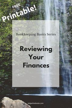So, you have a bookkeeping system in place and all the data is entered. Now what? This is where bookkeeping gets fun. Check out this free printable to help you review your business finances and create action items for the next month!