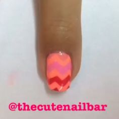 /\/\/\ PINK CHEVRON MANI! I love these vinyls from @snailvinyls! They have so many cool designs so you'll be seeing more of them.  Make this mani your own by using your favourite colours! ~Maddie Products used: ~Chevron vinyls by @snailvinyls ~Flip Flop Fantasy by @chinaglazeofficial ~Bubbly by @revlon ~Posh (Gel Extreme Shine Collection) by @lacolorscosmetics ~From Rio xo by @ellamilapolish ~Gorgeous by @joshikpolish