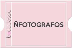 ÑFOTÓGRAFOS | Fotógrafos de Bodas Valladolid http://www.bodaclassic.com/2014/01/n-fotografos-bodas-valladolid.html#0