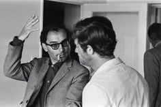 Godard and Belmondo