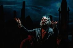 Jeffrey Hoy as Tevye in Cocoa Village Playhouse's 'Fiddler on the Roof.' Photo by Goforth Photography. By PAM HARBAUGH With the world changing all about him, a father's love…