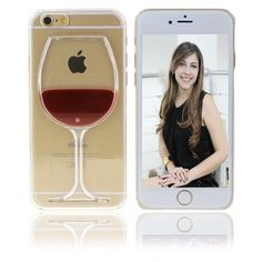 Você vai se encantar com a capa para iphone taça de vinho. De Design incrível e proteção padrão para o dia dia, as capinhas de liquido vinho para iphone vai te encantar e criar um novo status elegante para seu smartphone. Disponiveis para o Iphone 6s e 6, o Iphone 6s e 6 plus e também para o iphone 5s,5c,5 e Iphone 4/4s. É um case iphone bem elegante!