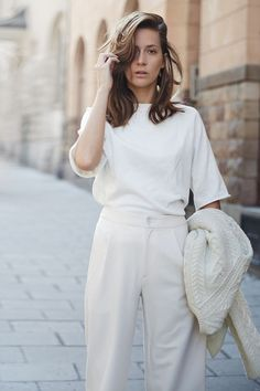 nice 6 total white outfits for spring and summer