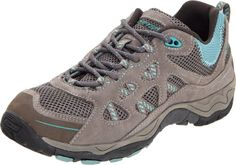 Hi-Tec Women's Total Terrain Aero Shoe,Hot Grey/Warm Grey/Aquamamatic,11 M US Suede And Mesh Upper. Ghillie And Double Eyelet Lacing System. Anti-Odor, Anti-Microbial Ortholite Sockliner. Contoured Cmeva Midsole. Mdt Carbon Rubber Outsole.  #Hi-Tec #Shoes