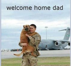This is from a military base in Massachusetts. Man's best friend: