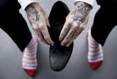 Toe Porn take the sophistication of a gentleman and cut against it an edge of defiance. Bright colours, bold designs and a composed attitude for style inspire the way in which Toe Porn create their designer socks. Crafted locally with the finest cotton blend, they are where distinction and bravery collide.