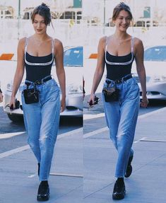 summer outfits for sale Fashion Killa, Look Fashion, High Fashion, Fashion Outfits, Bella Hadid Outfits, Bella Hadid Style, Mode Ootd, Look Retro, Outfit Look
