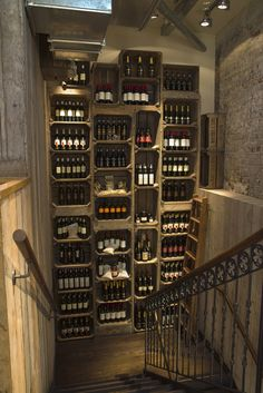 Decorative storage idea.. Going with the 1914 bottles found.. but would need Strong glass or clear wall