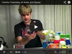 Colorful Chemistry of Acids and Bases - Used to teach or review. Some really good information here.