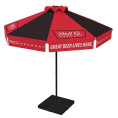 UBC Group Strives To Provide The Highest Quality Custom Patio Umbrellas And  Beer Logo Umbrellas.