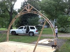 gothic arch truss - Google Search