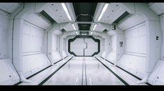 ArtStation - sci-fi room, Ryuichi Tokushige