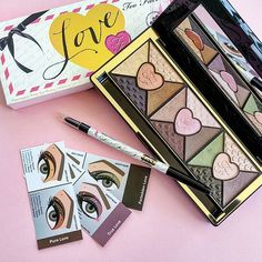 SNEAK PEEK!: the NEW Too Faced Love Palette! Should be available later this month!