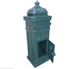NEW Aluminium Stand Letterbox Tower Vintage Mailbox Post Mail Box | eBay