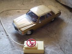 Mercedes by Juguetes Rico #Toys #Vintage