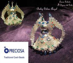 My pendant Baby Silver Angel for June Preciosa Competiton 2014. #ciondolo #gioielli #LauraSolerte #handmadejewelry #jewelry #pendant #babybirth #babybirthjewelry - Laura Solerte diritto d'autore 2014