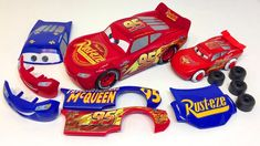 Lightning McQueen Cars Disney Toys Change and Race Cartoon for Kids Mack Trucks, Toys, Gaming, Games, Toy, Beanie Boos