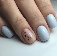 Try some of these designs and give your nails a quick makeover, gallery of unique nail art designs for any season. The best images and creative ideas for your nails. Cute Simple Nails, Simple Acrylic Nails, Best Acrylic Nails, Perfect Nails, Pretty Nails, Cool Easy Nails, Pretty Short Nails, Classy Nail Art, Classy Nail Designs