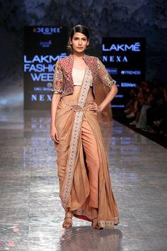Lakme Fashion Week, Draped Dress, Desi, Saree, Kurtis, Beautiful, Dresses, Sari, Gowns
