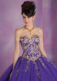purple ball gown - Google Search                                                                                                                                                                                 More