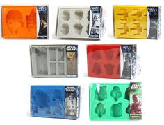 Star Wars Ice Tray - Official Silicone Ice / Cake / Chocolate Mold - Kotobukiya