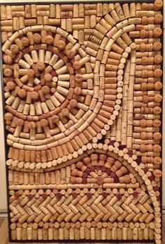 Found my 'zen' over the weekend creating this from wine and champagne corks. FUN!!