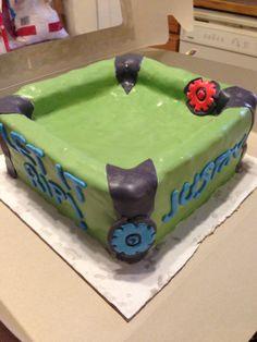 Bey Blade Arena Cake