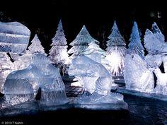 Toronto Icefest by tnvreq, via Flickr Toronto, Spaces, Outdoor, Outdoors, Outdoor Games, Outdoor Living