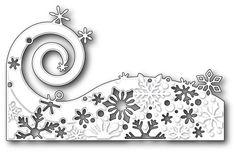 Poppy Stamps - Die - Snowflake Wave,$21.00