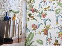 Os incríveis papéis de parede da nova coleção Wallpaper apresentados pela Decoratta.