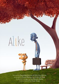 Another one-of-a-kind animated short film to watch. Alike is an animated short film from Spain directed by Daniel Martínez Lara & Rafa Cano Méndez. Beau Film, King Tut Tomb, Boys Before Flowers, Persian Poetry, Popular Tv Series, Superhero Movies, Photography Camera, Space Travel, Animation Film