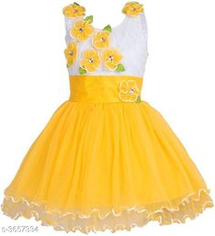 Checkout this latest Frocks & Dresses Product Name: *Trendy Designer Kid's Dress* Fabric: Net Sleeve Length: Sleeveless Pattern: Solid Multipack: Single Sizes: 0-3 Months, 0-6 Months, 3-6 Months, 6-9 Months, 6-12 Months, 9-12 Months, 12-18 Months, 18-24 Months, 0-1 Years, 1-2 Years, 2-3 Years, 3-4 Years, 4-5 Years, 5-6 Years, 6-7 Years, 7-8 Years, 8-9 Years, 13-14 Years Country of Origin: India Easy Returns Available In Case Of Any Issue   Catalog Rating: ★4 (2836)  Catalog Name: Stylish Trendy Designer Kid'S Dresses Vol 8 CatalogID_510079 C62-SC1141 Code: 524-3657334-2901