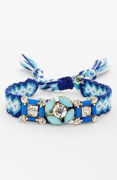 Cara Embellished Friendship Bracelet available at #Nordstrom