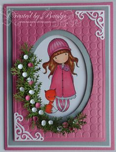 Baukje's Cards and Crafts: Gorjuss Girl