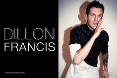 Dillon Francis - The Untitled Magazine - Photography by Indira Cesarine >> http://untitled-magazine.com/dillon-francis-on-edm-his-new-album-and-tattoos-exclusive-interview/