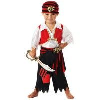 Homemade Pirate Costume   Fun Halloween Products How to Make a Homemade Pirate Costume. Toddler ...  sc 1 st  Pinterest & Pirate Costumes For Kids on Pinterest   Pirate Costume Kids Kids ...