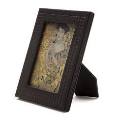 Accessories:  Wiener Werkstätte Leather Photo Frame | www.neuegalerie.org