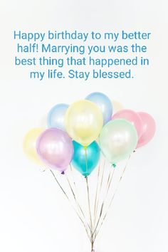 Birthday Wish For Husband, Husband And Wife Love, Happy Birthday My Love, It's Your Birthday, Birthday Wishes, Share My Life, My Better Half, You Are Special, Life Partners