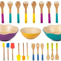 Core Bamboo Smart Bamboo Kitchenware Devoted to great-looking products and social responsibility, Core Bamboo crafts kitchenware youll be proud to own Toy Kitchen, Kitchen Stuff, Bamboo Crafts, Updated Kitchen, Green Building, Kitchen Colors, Inspired Homes, Humble Abode, Food Preparation
