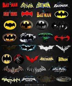 Batman Logos from DC Comics Joker Batman, Batman Robin, Superman, Batman Stuff, Batman 1966, Batman Sign, Batman Poster, Gotham Batman, Lego Batman