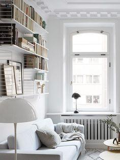 scandinavian style living room decor via fantastic frank. / sfgirlbybay