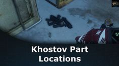 Destiny Rise of Iron Khostov Part Locations