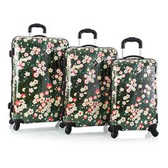 Heys Sakura Fashion Spinner 3-piece Luggage Set  http://www.alltravelbag.com/heys-sakura-fashion-spinner-3-piece-luggage-set/