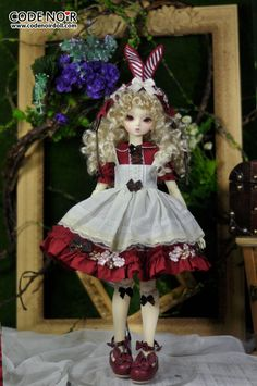 【2016.7 Pre-order】CMD000045 Red Rabbit Dream MSD Ver.|DOLKSTATION - Ball Jointed Dolls Shop - Shop of BJD Dolls
