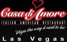 "Casa di Amore - Italian American Restaurant in Las Vegas - We went to this restaurant on our recent trip to Vegas and I would recommend it to anyone making a trip there in the future.  It has kind of an ""Old School"" Vegas vibe and they will send a limo to pick you up and return you to your hotel."