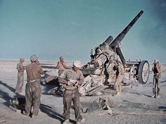 Hanomag 17 cm Kanone 18 in North Africa