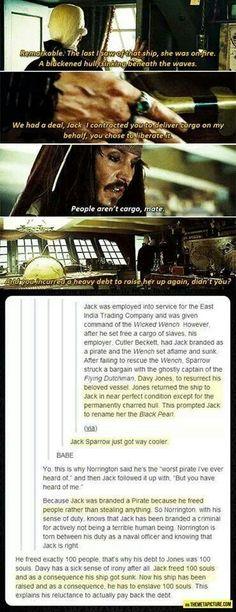 Jack sparrow backstory